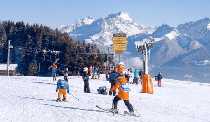 skien in zwitserland