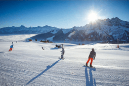 Skigebied Zwitserland